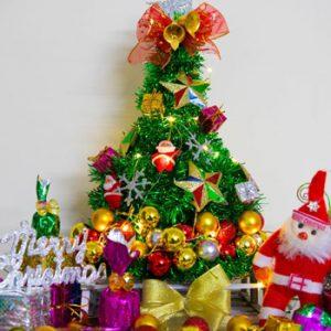 عکس ساخت درخت کریسمس