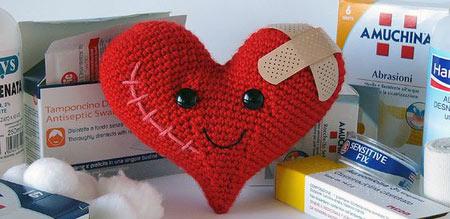 عکس عروسک قلبی