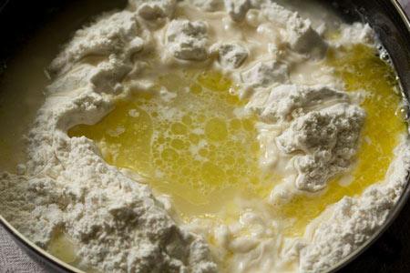 روش تهیه خمیر پیتزا بدون خمیر مایه