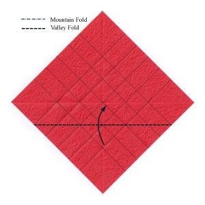 عکس آموزش اوریگامی سه بعدی اسان