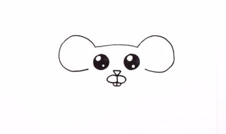 عکس آموزش نقاشی موش برای کودکان