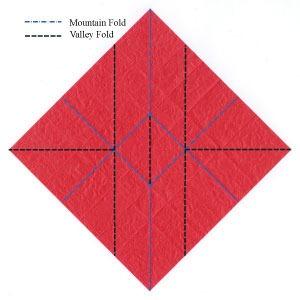 عکس آموزش اولیه اوریگامی سه بعدی