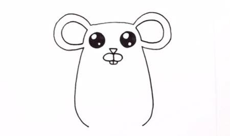 اموزش نقاشی موش کودکانه