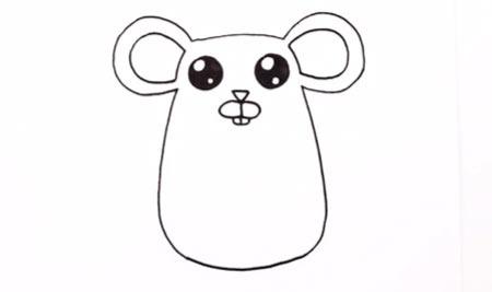 عکس اموزش نقاشی موش کودکانه