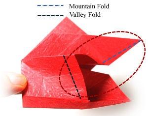 عکس آموزش اوریگامی سه بعدی برای کودکان