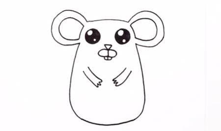 آموزش گام به گام نقاشی موش