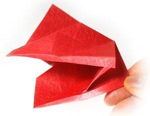 آموزش اوریگامی سه بعدی تصویری
