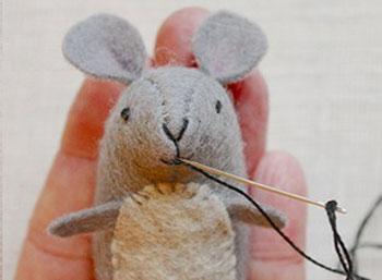 عکس موش نمدی برای عیدی دادن