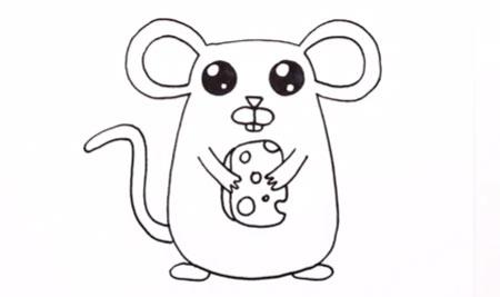 دانلود آموزش نقاشی موش