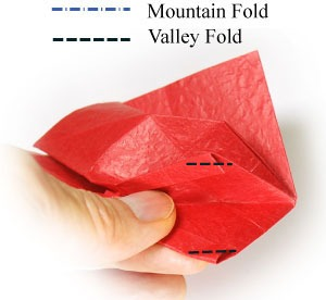 عکس آموزش ساخت اوریگامی سه بعدی