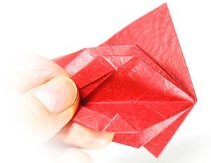 آموزش قطعه اوریگامی سه بعدی