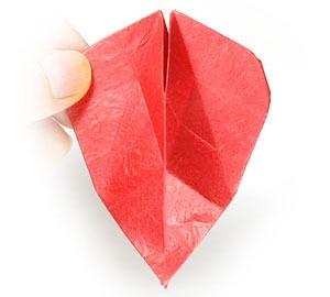 عکس آموزش کاردستی اوریگامی سه بعدی