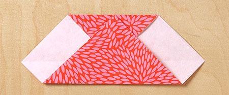 عکس آموزش تصویری اوریگامی قلب
