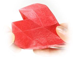 عکس آموزش اوریگامی های سه بعدی