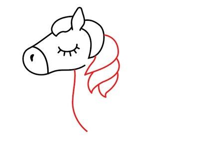 عکس کشیدن یال اسب