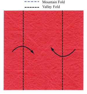عکس آموزش اوریگامی سه بعدی ساده
