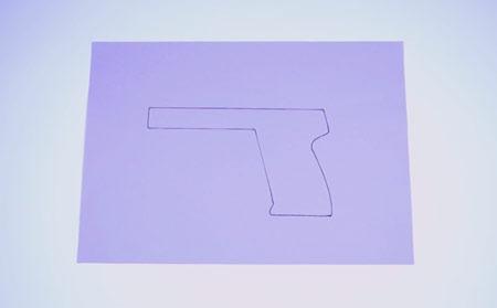 عکس الگوی تفنگ