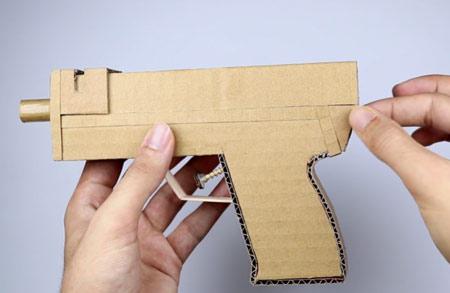 روش ساخت تفنگ با کارتن