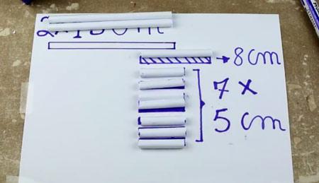 عکس آموزش ساخت تفنگ کاغذی خیلی ساده
