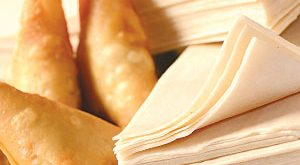 عکس طرز تهیه خمیر سمبوسه