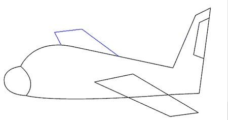 عکس کشیدن بال هواپیما