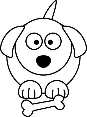 اموزش نقاشی سگ به کودک
