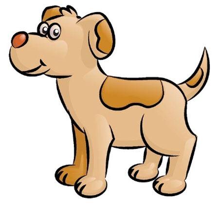 عکس آموزش نقاشی سگ برای کودک