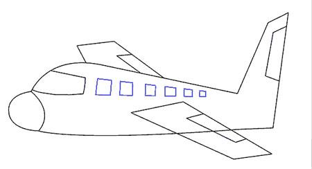 عکس آموزش طراحی بال هواپیما
