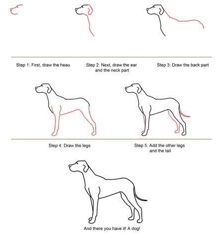 عکس آموزش نقاشی سگ ژرمن