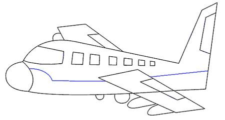 آموزش طراحی و نقاشی هواپیما