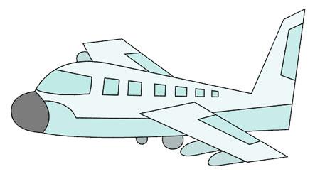 عکس آموزش نقاشی موتور هواپیما