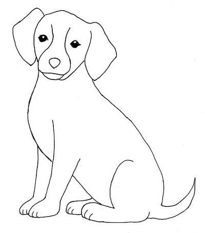آموزش نقاشی سگ کودکانه