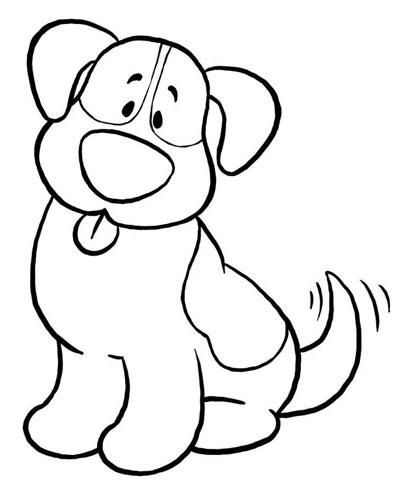 اموزش نقاشی سگ فانتزی