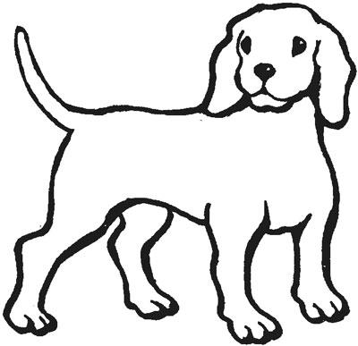 آموزش نقاشی کشیدن سگ