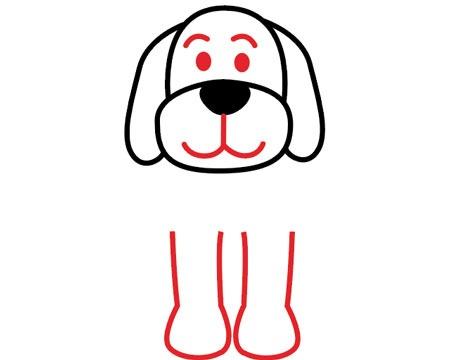 اموزش نقاشی سگ اسان