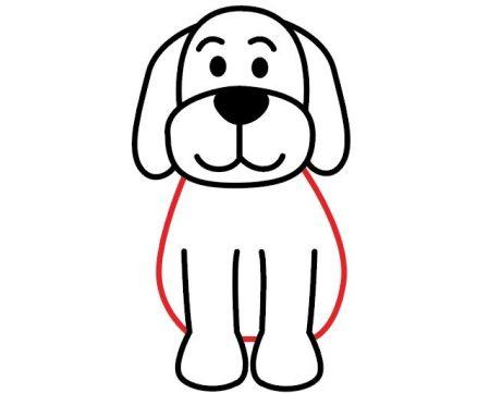 اموزش نقاشی از سگ