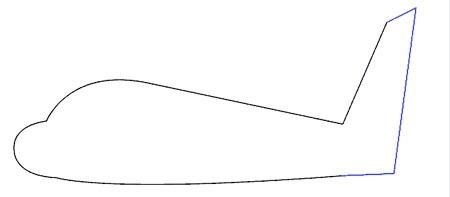 عکس آموزش نقاشی هواپیما کودکانه