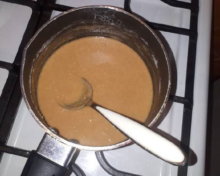 طرز تهیه رنگینک خرما شیرازی