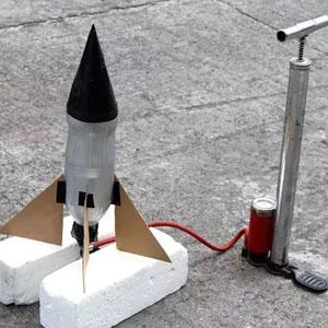 عکس آموزش ساخت موشک آبی