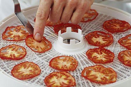 خشک کردن گوجه فرنگی در خشک کن