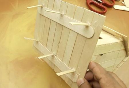 عکس پایه چوبی