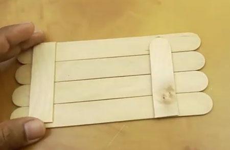 عکس کاردستی با چوب بستنی