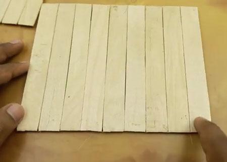 عکس کاردستی با چوب