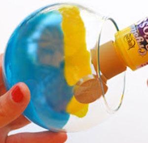 عکس طراحی جاشمعی شیشه ای