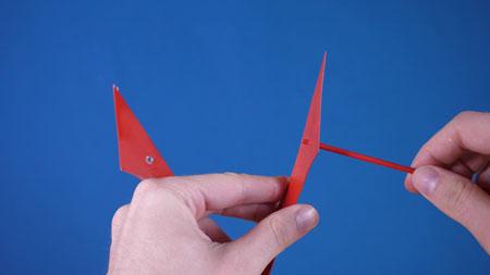عکس ساخت شاسی کاردستی هواپیما