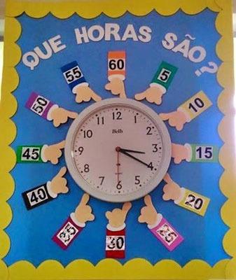کاردستی ساعت برای کلاس اول