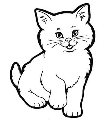 عکس نقاشی گربه زیبا
