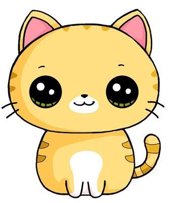 عکس نقاشی گربه رنگ شده