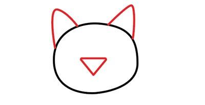عکس نقاشی سر گربه