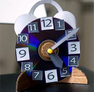 عکس کاردستی ساعت